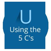Using 5cs